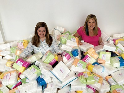 Sister Supply founders Eli Cloud and Nikii Richey. - SISTER SUPPLY