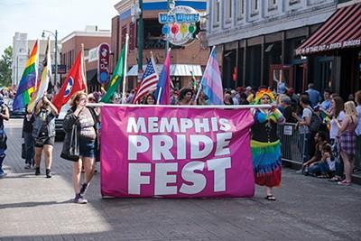 Memphis Pride Parade - BLAKE BILLINGS | DREAMSTIME.COM