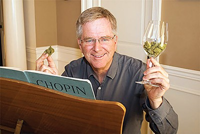 "NORML board member Rick Steves celebrated the ""historic"" House hearing. - NORML/FACEBOOK"