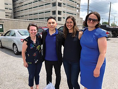 Manuel Duran and some of his attorneys. - SOUTHERN POVERTY LAW CENTER