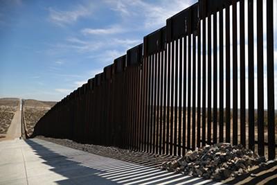 U.S.-Mexico border fencing in Santa Teresa, New Mexico - REUTERS | LUCY NICHOLSON