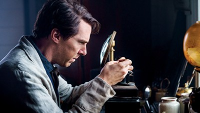 Benedict Cumberbatch (above) stars as inventor Thomas Edison in The Current War.
