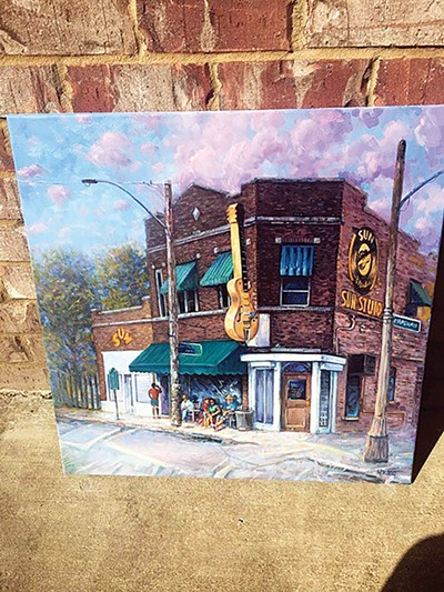 Pop-up shop features local art. - JASON PAYTON