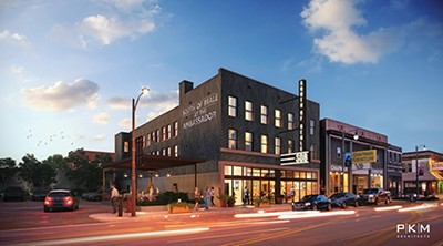 Rendering of the proposed new South of Beale - P/K/M ARCHITECTS