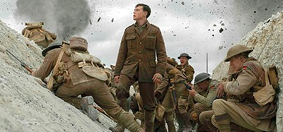 Not so quiet on the Western Front — George MacKay (above) risks life and limb in 1917.