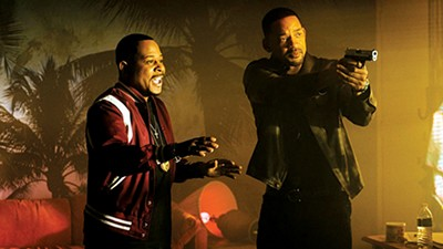 Martin Lawrence (left) and Will Smith are in it for life in Bad Boys for Life.