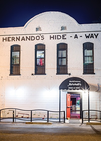 """It's called Hernando's Hide-A-Way."" - JUSTIN FOX BURKS"