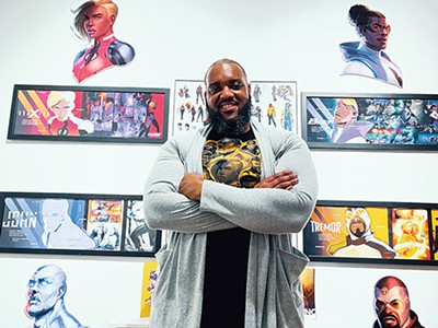 Ed Williams, guest curator and founder of Mayke Entertainment LLC - DARIUS WILLIAMS, DBW PHOTOGRAPHY
