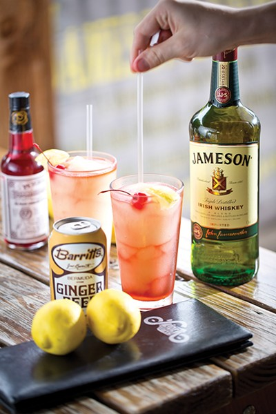Though Slider has a new, additional location and new menu items, the Jameson stays the same. As it should.