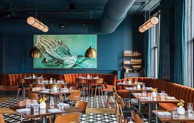 The new Bishop restaurant inside Central Station Hotel