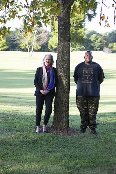 Ellen Klyce and Deangelo Brown - MURRAY RISS