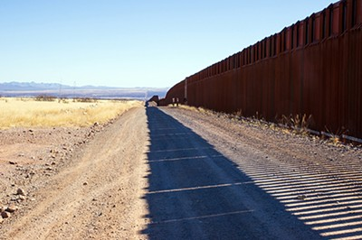 Trump's unfinished border wall was built on a lie, and stands as a monument to a cruel and divisive moment in U.S. history. - MATI PARTS   DREAMSTIME.COM