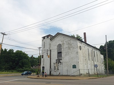 Blighted church at 7th Street and Chelsea Avenue - TOBY SELLS