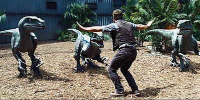 Let's root for the dinosaurs: Jurassic World.