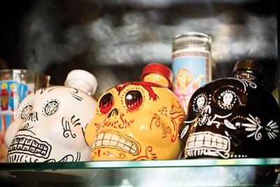 bottles of tequila - JUSTIN FOX BURKS