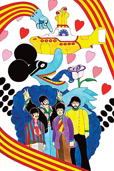Campbell's work on Yellow Submarine totals 12 minutes of animation. - RON CAMPBELL