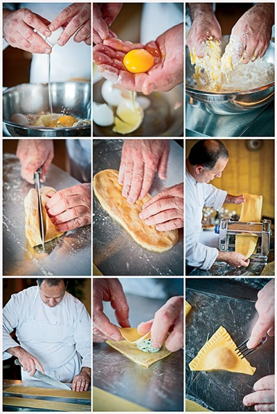 Pasta in progress - JUSTIN FOX BURKS
