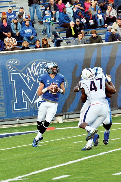 Paxton Lynch passed for 22 touchdowns and ran for 13 more in 2014. - LARRY KUZNIEWSKI