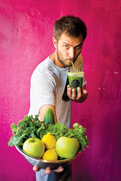 Scott Tashie had a come-to-Jesus moment and opened a juice bar. - JUSTIN FOX BURKS