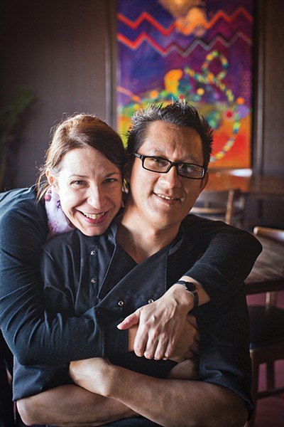 Amy and Julio Zuniga needed to do their own thing and opened Maximo's. - JUSTIN FOX BURKS