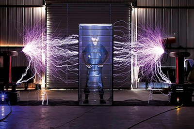 Chain mail and Tesla coils
