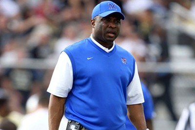 UNC running backs Coach Larry Porter - NORTH CAROLINA UNIVERSITY