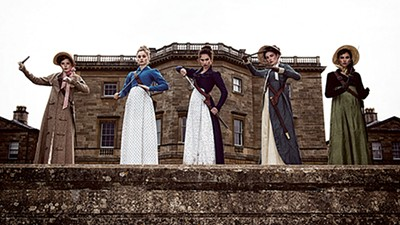 Night of the Living Darcy — proper ladies spar with suitors and the undead in post-zombie England.