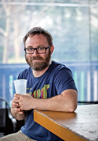 Drew Barton, co-owner and brewer at Memphis Made Brewing