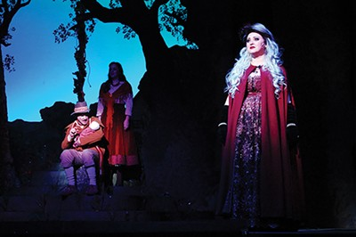 Old fairy tales get a little freaky in Into the Woods. - JACK YATES