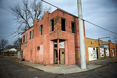 Blighted property in South Memphis - BRANDON DILL