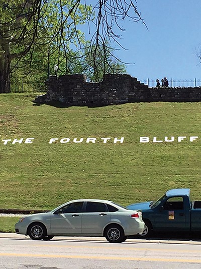 The project involved - re-branding Memphis Park as the Fourth Bluff.