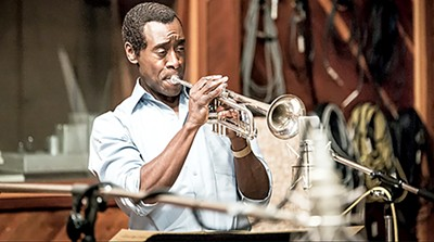 Don Cheadle as Miles Davis in Miles Ahead