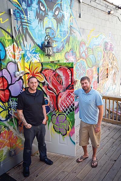 Robert Coletta (left) and Brandon Knight