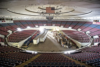 A look inside the Mid-South Coliseum - BRANDON DILL
