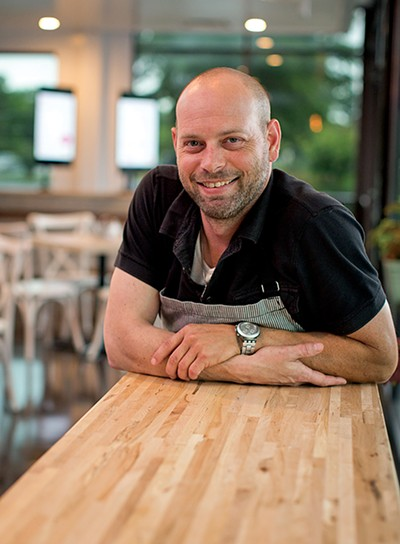 Kirk Caliendo, owner of the Pasta Kitchen.