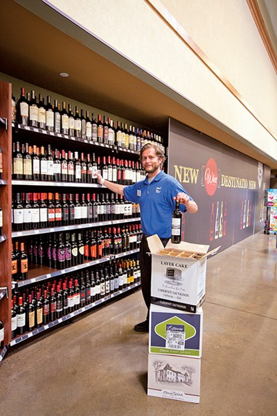 Derek Stamper is a wine consultant at Kroger.