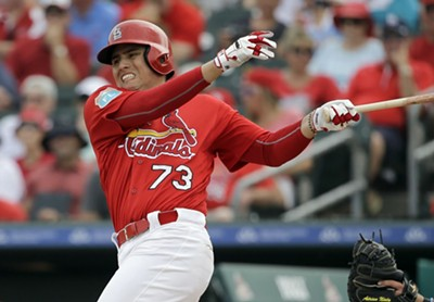 The St. Louis Cardinals' Aledmyz Diaz