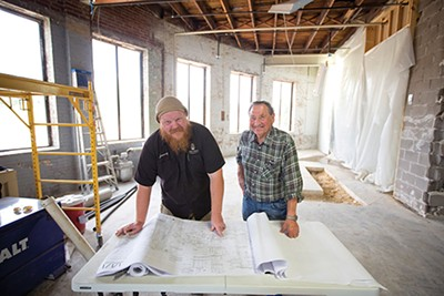 Brewer Jimmy Randall and - owner Jerry Feinstone