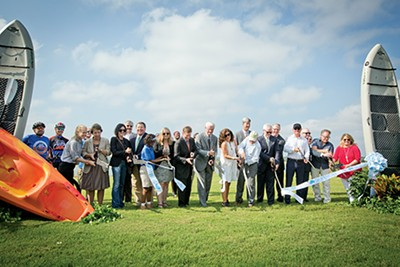 Ribbon-cutting for Shelby Farms Park improvements - JUSTIN FOX BURKS