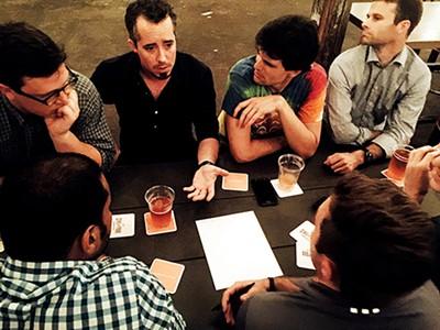 A discussion during Civil Pour