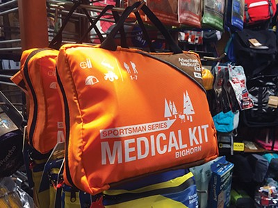 Outdoors Inc. medical kit - TOBY SELLS