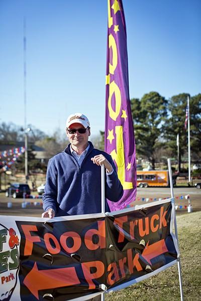 Kevin Payne, the mastermind behind 901 Food Truck Park - JUSTIN FOX BURKS