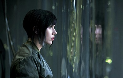 Scarlett Johansson  is Motoko Kusanagi in the new, live-action Ghost in the Shell.