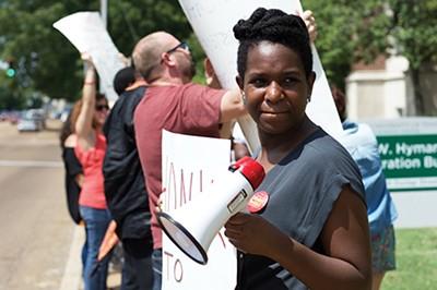Organizer Jayanni Webster - MICAELA WATTS