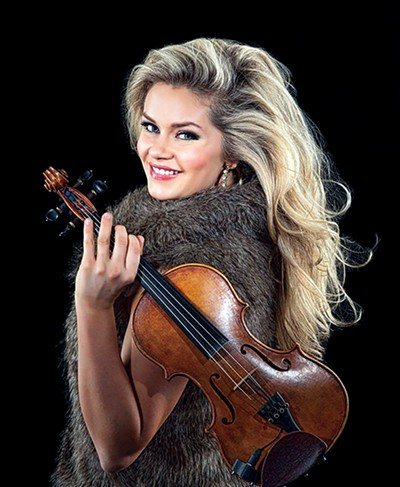 Aria Stiles, violinist on call