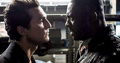 Matthew McConaughey (left) fled across the desert, and Idris Elba followed.
