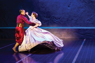 Jose Llana and Laura Michelle Kelly in Rodgers & Hammerstein's The King and I. - MATTHEW MURPHY
