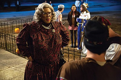 Tyler Perry is Madea (and Brian and Uncle Joe) in Tyler Perry's Boo 2! A Madea Halloween
