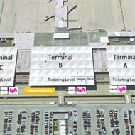 New Pickup Spot for Uber, Lyft at Airport