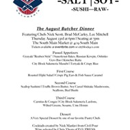 August Butcher Dinner with Nick Scott, Brad McCarley, and Lee Mitchell